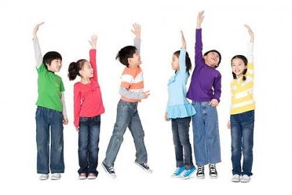 10个小动作,帮助孩子长高